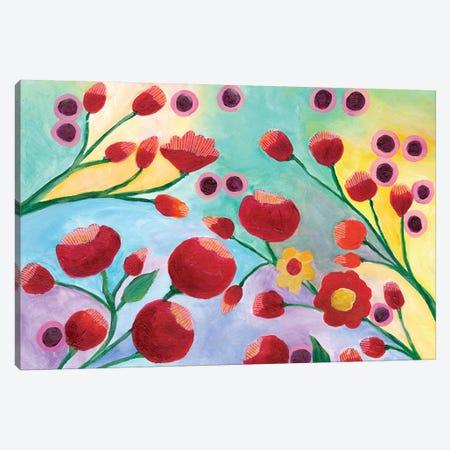 Jambalaya Floral I Canvas Print #REG270} by Regina Moore Canvas Print