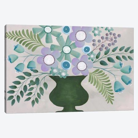 Lavanda Floral I Canvas Print #REG274} by Regina Moore Canvas Art