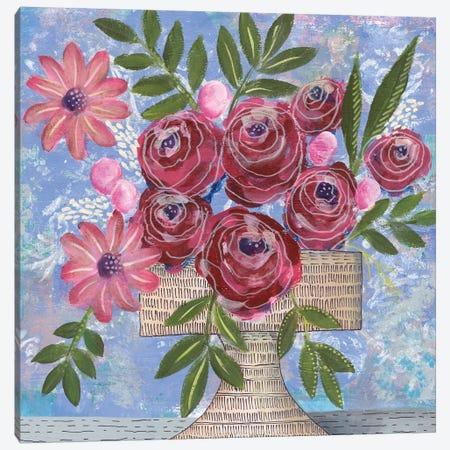 Rosa Bouquet I Canvas Print #REG278} by Regina Moore Canvas Print