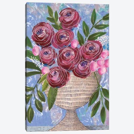 Rosa Bouquet II Canvas Print #REG279} by Regina Moore Canvas Print