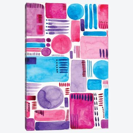 Mod Shapes II Canvas Print #REG27} by Regina Moore Canvas Print