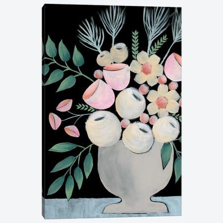 Rosada Floral I Canvas Print #REG280} by Regina Moore Canvas Artwork