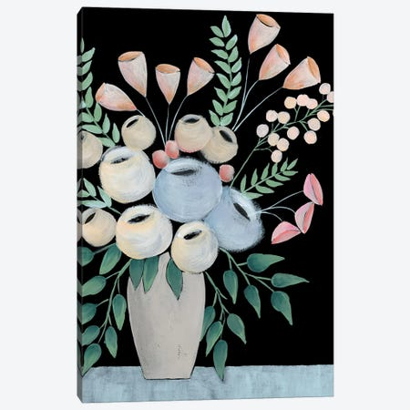 Rosada Floral II Canvas Print #REG281} by Regina Moore Canvas Wall Art