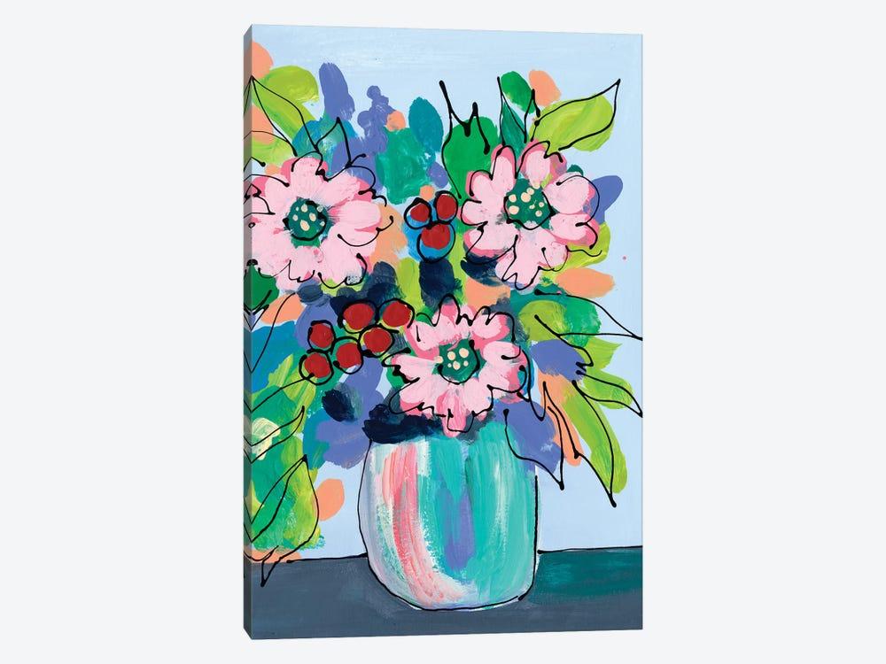 Rowdy Floral I by Regina Moore 1-piece Canvas Wall Art