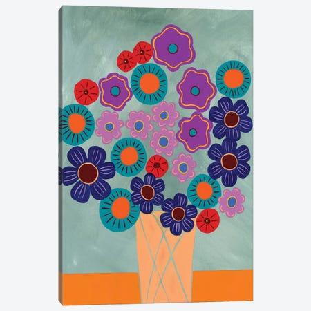 Summer Arrangement II Canvas Print #REG285} by Regina Moore Canvas Art Print