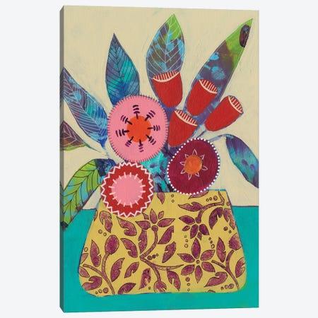 Boheme Floral I Canvas Print #REG290} by Regina Moore Canvas Print
