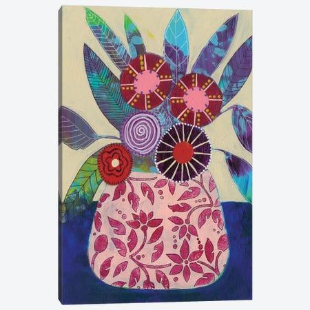 Boheme Floral II Canvas Print #REG291} by Regina Moore Canvas Print