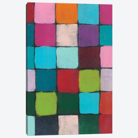 Colorful Harmony I Canvas Print #REG294} by Regina Moore Canvas Art