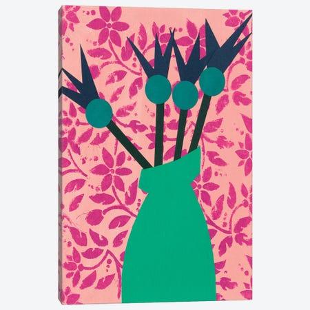 Graphic Vase I Canvas Print #REG296} by Regina Moore Canvas Wall Art