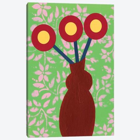 Graphic Vase III Canvas Print #REG298} by Regina Moore Canvas Art Print