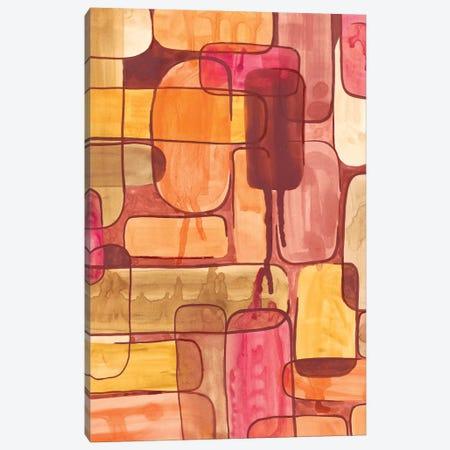 Mod Sunset II Canvas Print #REG29} by Regina Moore Canvas Art