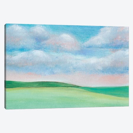 Soft Sky I 3-Piece Canvas #REG304} by Regina Moore Canvas Art