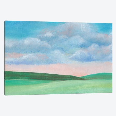 Soft Sky II 3-Piece Canvas #REG305} by Regina Moore Canvas Art