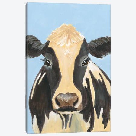 Cow-don Bleu II Canvas Print #REG309} by Regina Moore Canvas Art Print