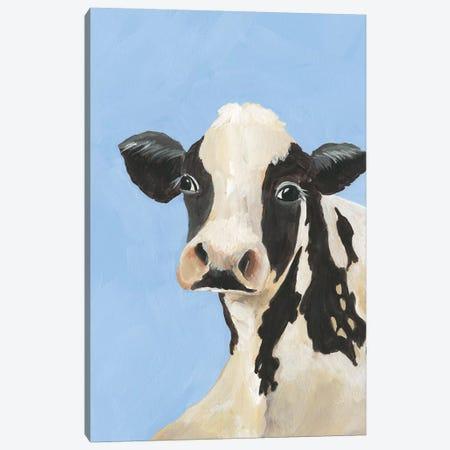 Cow-don Bleu III Canvas Print #REG310} by Regina Moore Canvas Art