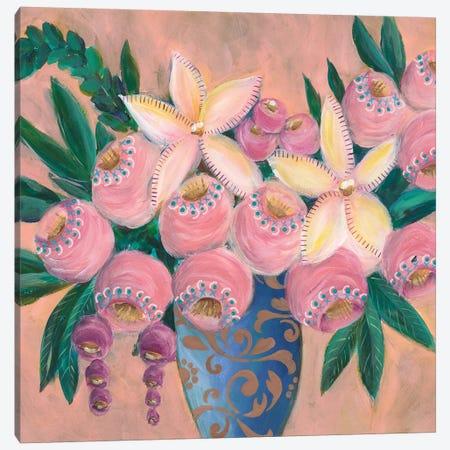 Floral Dujour I Canvas Print #REG312} by Regina Moore Canvas Art
