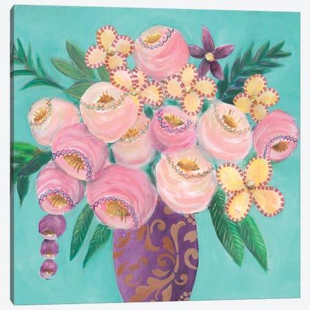 Floral Dujour II Canvas Print #REG313} by Regina Moore Canvas Artwork