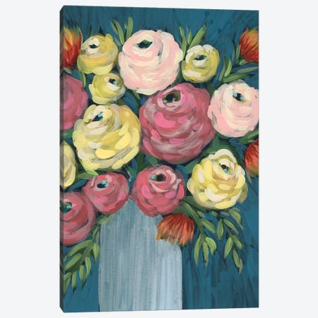 Loose Floral I Canvas Print #REG327} by Regina Moore Canvas Artwork