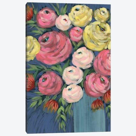 Loose Floral II Canvas Print #REG328} by Regina Moore Canvas Print
