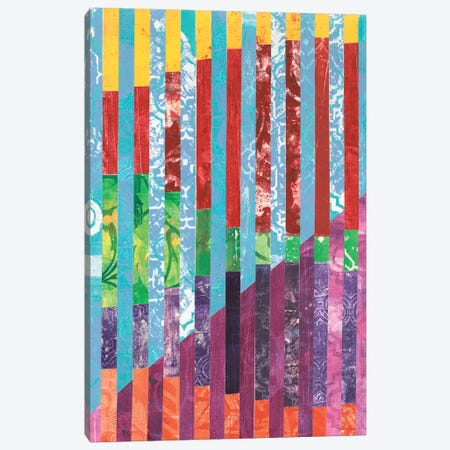 Quilted Monoprints III Canvas Print #REG32} by Regina Moore Canvas Print