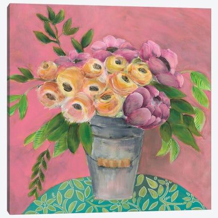 Sunny Bouquet I Canvas Print #REG342} by Regina Moore Canvas Print