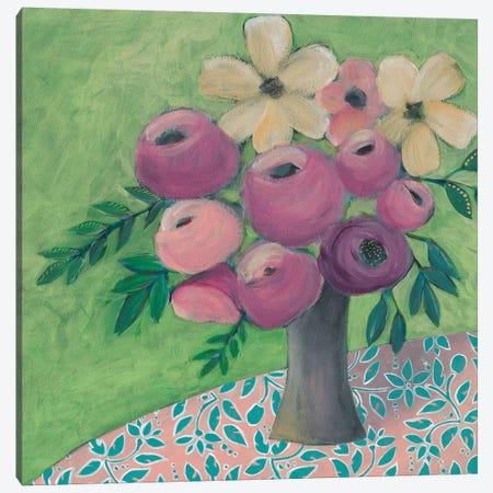 Sunny Bouquet II Canvas Print #REG343} by Regina Moore Canvas Print