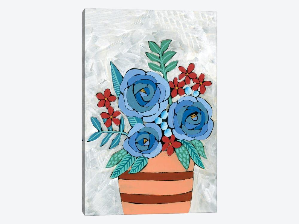 Bleu Blume I by Regina Moore 1-piece Art Print