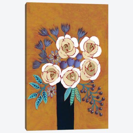 Neutral Blume II Canvas Print #REG349} by Regina Moore Canvas Print