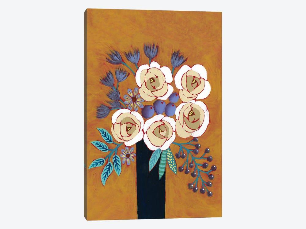 Neutral Blume II by Regina Moore 1-piece Canvas Artwork