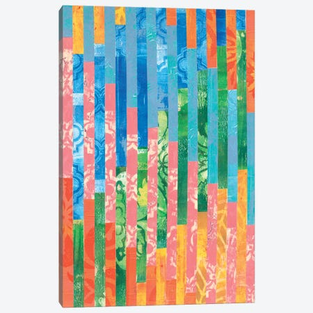 Quilted Monoprints VI Canvas Print #REG35} by Regina Moore Canvas Art