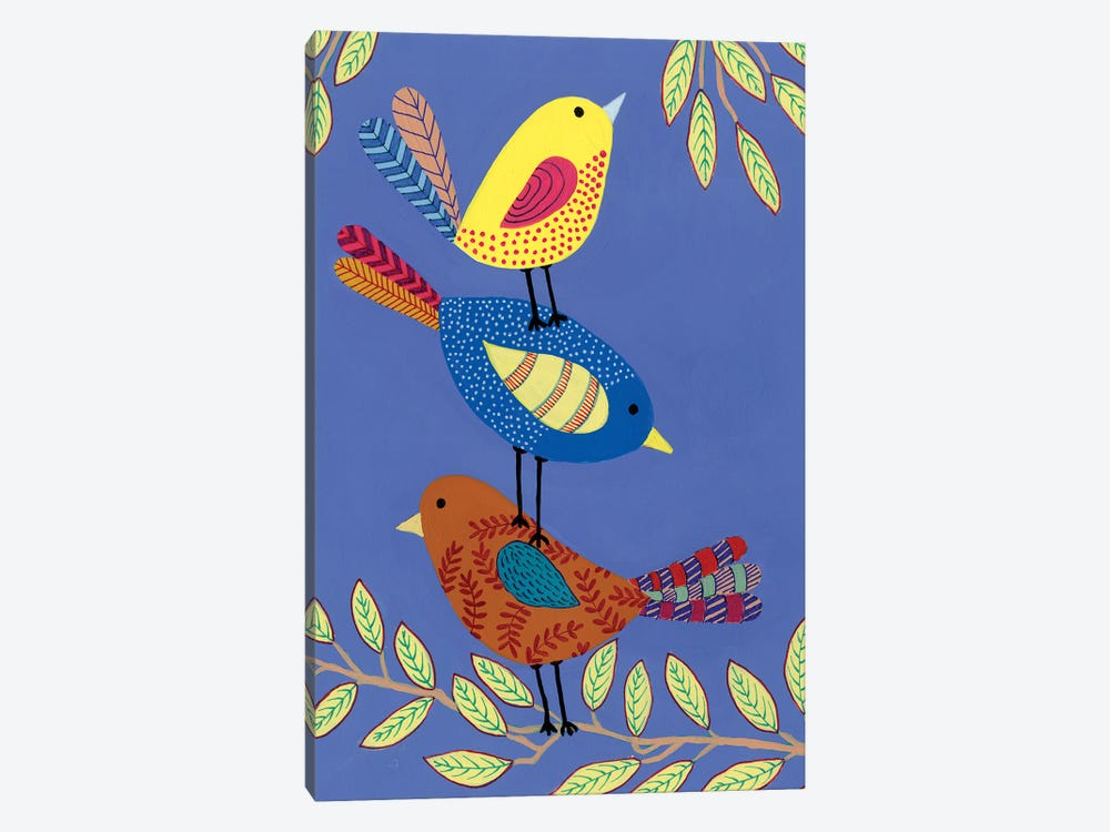 Patterned Feathers I by Regina Moore 1-piece Art Print