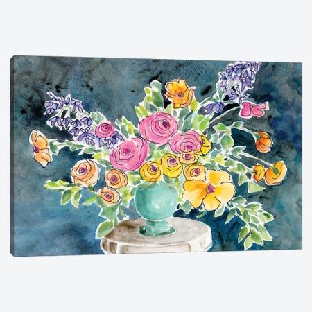 Abundant Arrangement I Canvas Print #REG371} by Regina Moore Canvas Artwork