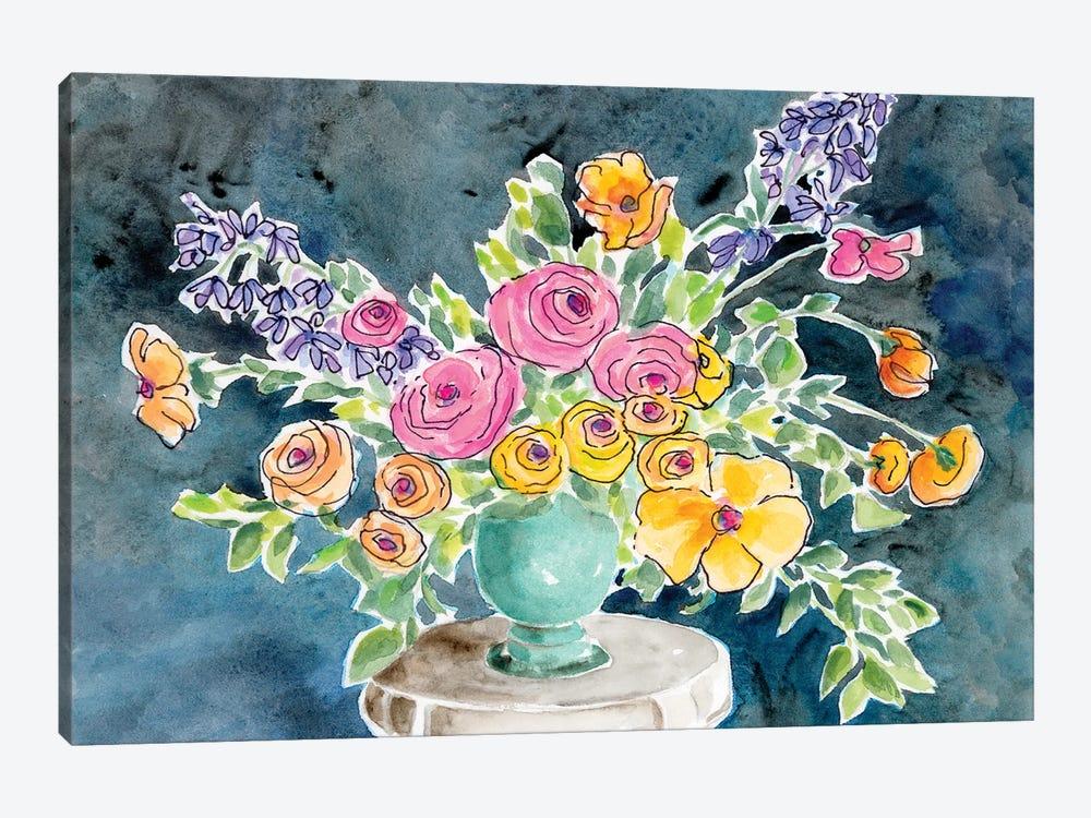 Abundant Arrangement I by Regina Moore 1-piece Canvas Print