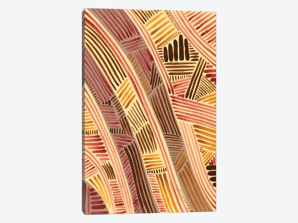 Bands of Pattern I by Regina Moore 1-piece Art Print