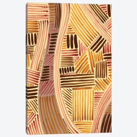 Bands of Pattern II Canvas Print #REG374} by Regina Moore Canvas Print