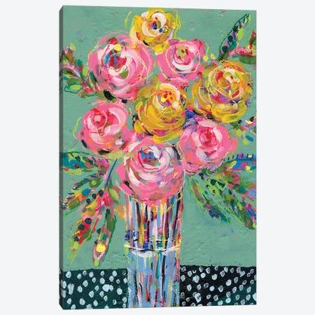 Bright Colored Bouquet I Canvas Print #REG375} by Regina Moore Canvas Art Print