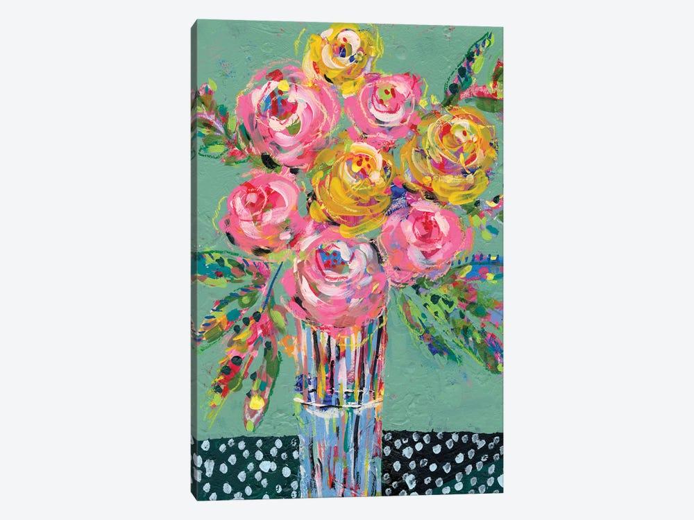 Bright Colored Bouquet I by Regina Moore 1-piece Canvas Print