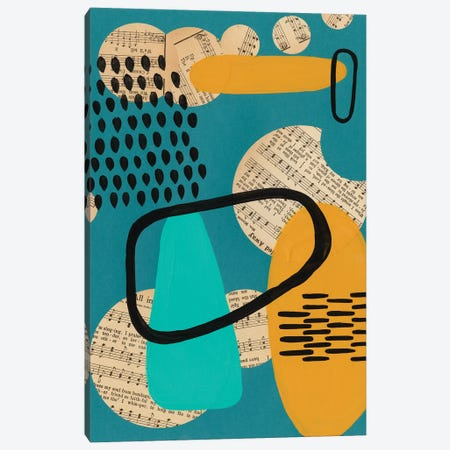Contemporary Configuration I Canvas Print #REG377} by Regina Moore Canvas Print