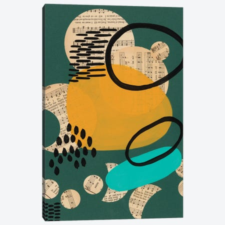 Contemporary Configuration II Canvas Print #REG378} by Regina Moore Canvas Wall Art