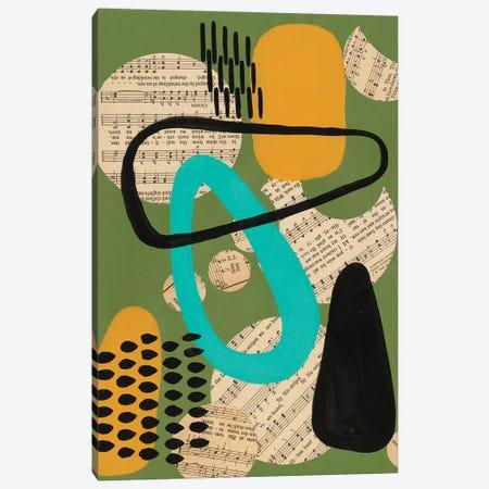 Contemporary Configuration III Canvas Print #REG379} by Regina Moore Canvas Artwork