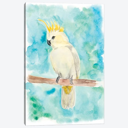 Sweet Tropical Bird II Canvas Print #REG37} by Regina Moore Canvas Wall Art