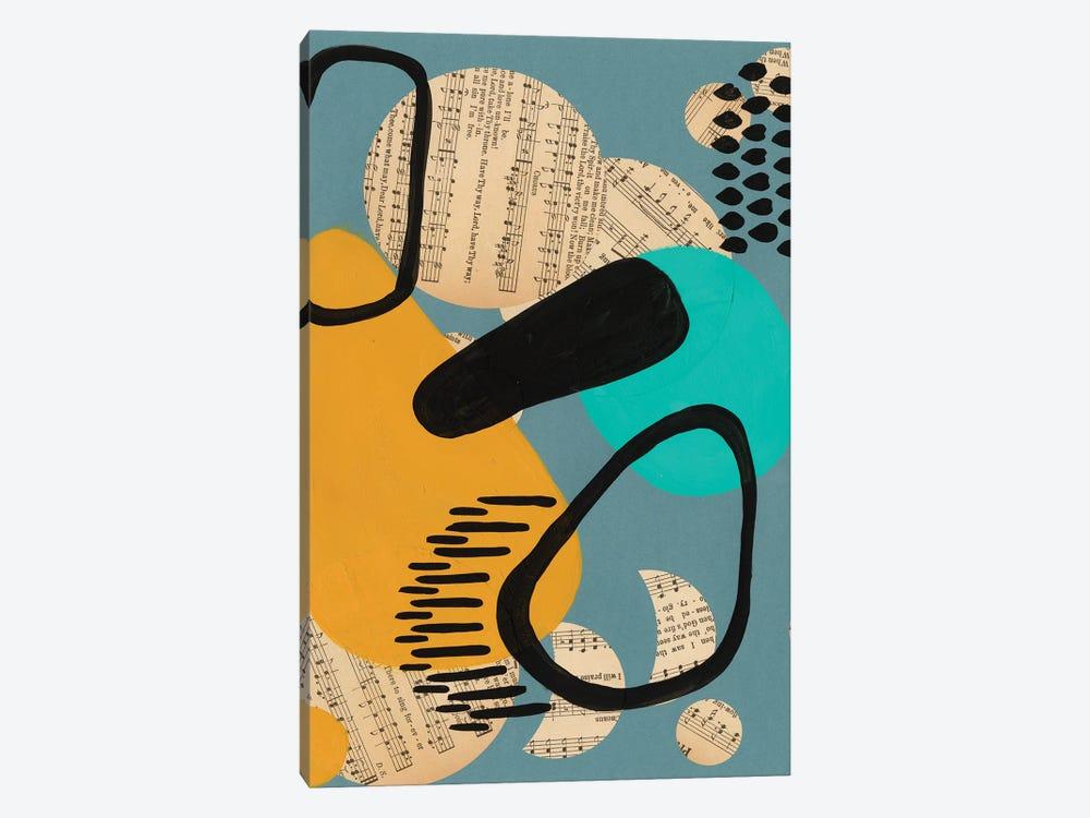 Contemporary Configuration V by Regina Moore 1-piece Canvas Art