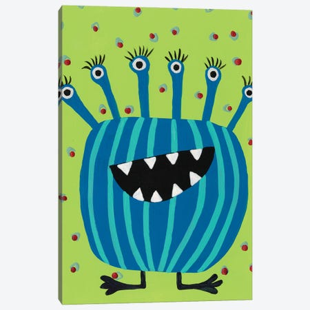 Happy Creatures II Canvas Print #REG383} by Regina Moore Art Print