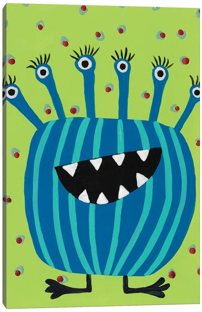 Happy Creatures II Canvas Art Print