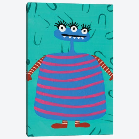 Happy Creatures III Canvas Print #REG384} by Regina Moore Canvas Art