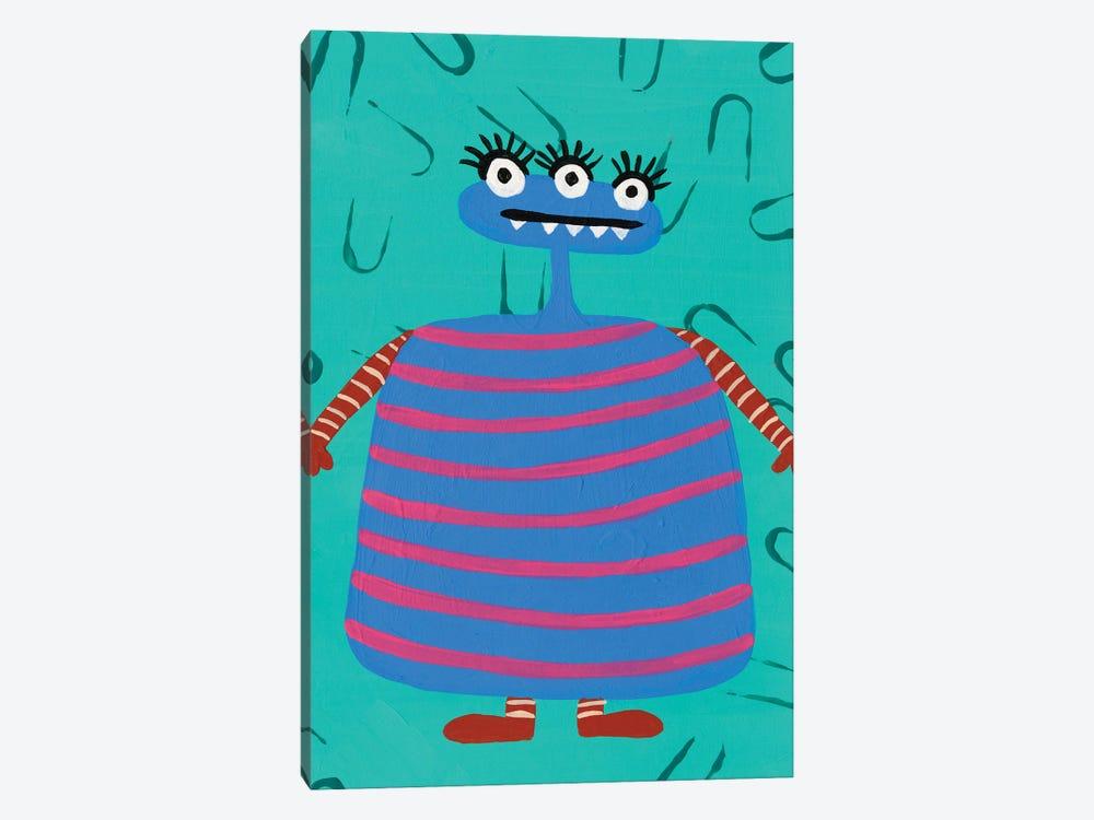 Happy Creatures III by Regina Moore 1-piece Canvas Art Print