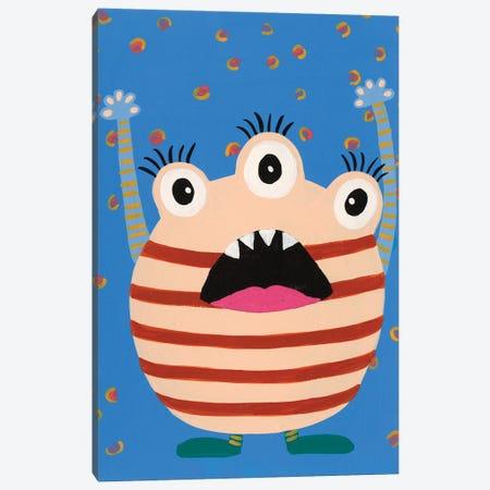 Happy Creatures IV Canvas Print #REG385} by Regina Moore Canvas Art