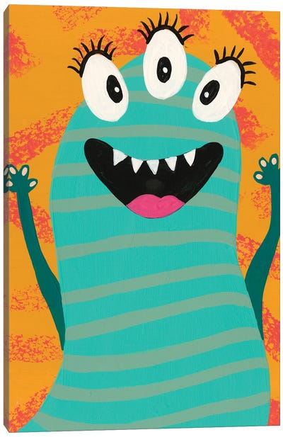 Happy Creatures V Canvas Art Print