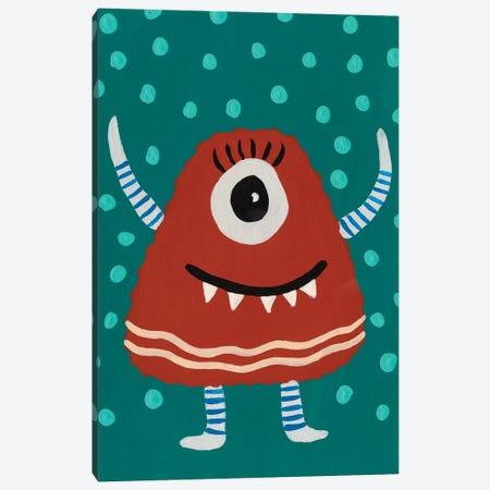 Happy Creatures VI Canvas Print #REG387} by Regina Moore Canvas Art
