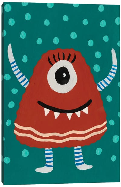 Happy Creatures VI Canvas Art Print